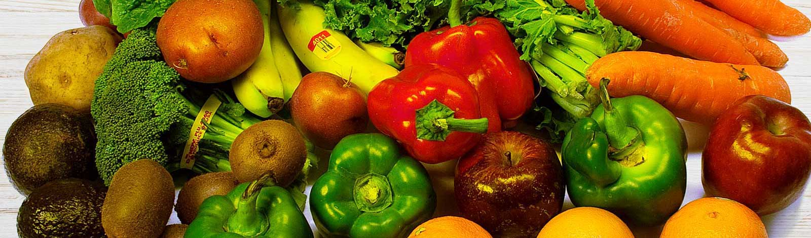 Picture of Fresh Vegetables and Fruit