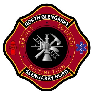 Logo for the Township of North Glengarry Fire Department